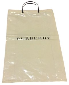 Burberry Berberry Plasric Shopping Bag