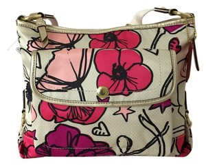 Coach Kyra Floral Print Cross Body Bag