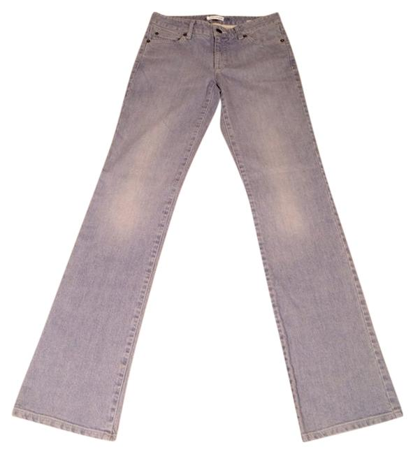 Tahari Vintage Theory Boot Cut Jeans-Light Wash