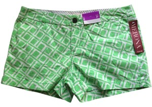 Merona Shorts Green White