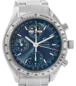 Omega Mens Omega Speedmaster Automatic Day Date Watch 3523.80.00