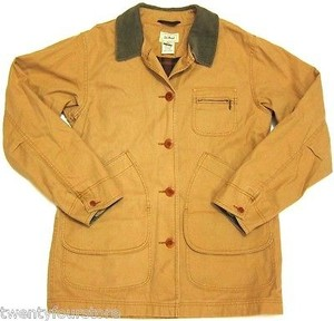L.L.Bean Womens Ll Bean Barn Jacket Coat
