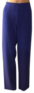 City Girl by Nancy Bolen Straight Pants Blue