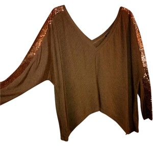 Homage Top tan/brown