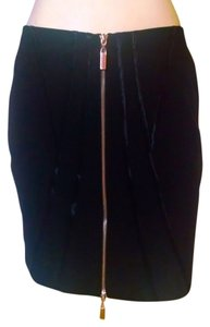 Cache Size 2 Zipper Skirt black