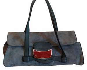 Tod's Silver-to Satchel in Blue