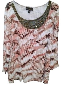 Dana Buchman Top Multi-Color