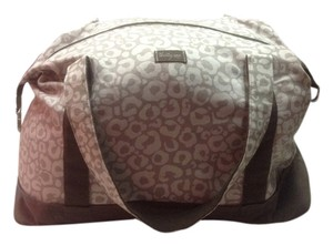 Tan/cream/brown Travel Bag