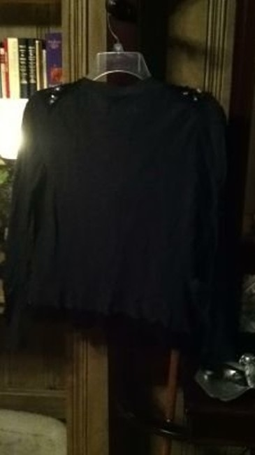 Vera Wang black and gray Jacket