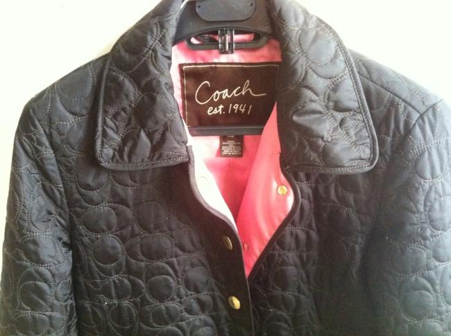 Coach New Pink Signature Jacket Raincoat