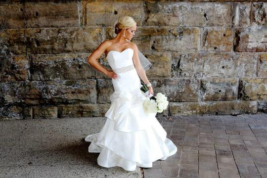 Hayley Paige Hayley Paige Fit-and-flare Wedding Dress