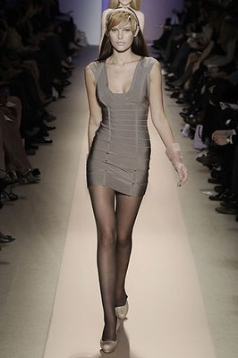 Herve Leger Runway Haute Dress