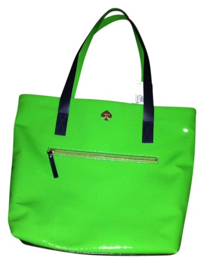 Preload https://img-static.tradesy.com/item/689978/kate-spade-new-bon-shopper-flicker-shamrock-green-patent-leather-tote-0-0-540-540.jpg