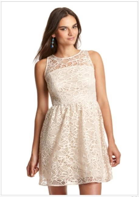 Sandra Darren Wedding Guest Easter Spring Church Lace Dress