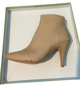 Jeffrey Campbell New Ankle Bootie Beige Leather Boots