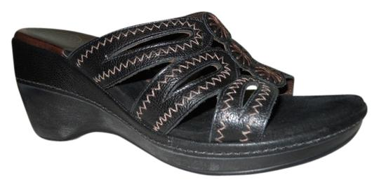 Other Leather black Mules