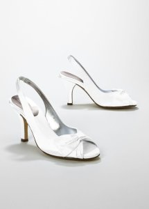 "Dyeables Blue David's Bridal ""Jem"" In Malibu Size US 8.5"