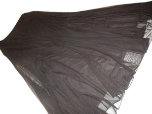 J.R. Nites Evening Wedding Maxi Skirt black