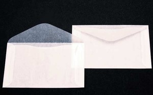 White Glassine Envelopes