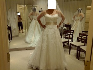 Watters 8072b Devenport Wedding Dress