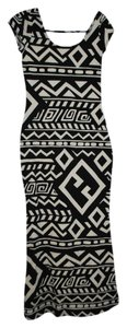 Black And White Maxi Dress by Charlotte Russe