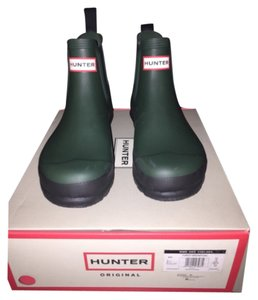 Hunter Forest green Boots
