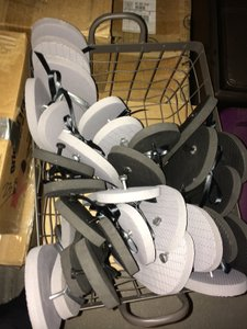 "Target Black and Grey ""Dancing Shoes"" For Guests Other"
