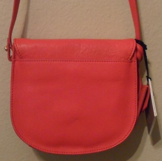 Allibelle Small Watermelon Leather Cross Body Bag
