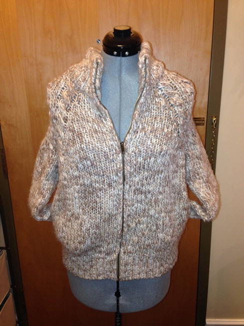 Other Confortable Zip Front Neutral Spring Tan Jacket