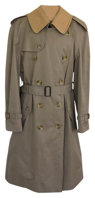 Preload https://item3.tradesy.com/images/burberry-khaki-vintage-wool-liner-men-s-or-woman-s-trench-coat-size-os-one-size-6916162-0-1.jpg?width=400&height=650