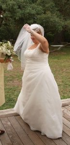 The White One Plus Size Bridal Wedding Dress
