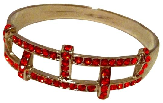 Preload https://item3.tradesy.com/images/fiery-orange-red-rhinestone-and-silver-bangle-new-bracelet-691657-0-0.jpg?width=440&height=440