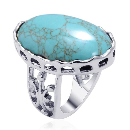 Unknown Blue Howlite Ring
