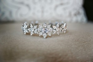 Pnina Tornai Diamond Swarovski Crystal Headband Hair Accessory