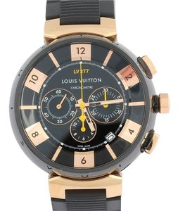 Louis Vuitton Louis Vuitton Men's Tambour Chronograph Watch