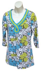 Boden Floral Braided Detail Tunic