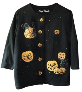 Onque Casuals Halloween Halloween Halloween Shirt Womens Large Cardigan