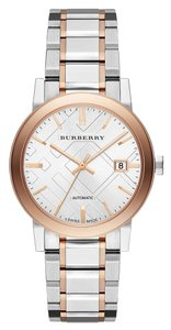 Burberry BU9322 Burberry The City Men Watch Automatic Two Tone 38mm Date