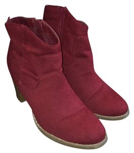 Old Navy Red/ Burgandy Boots