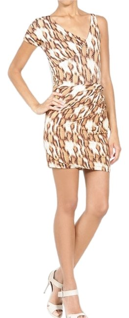 Preload https://item1.tradesy.com/images/just-cavalli-brown-leopard-body-above-knee-night-out-dress-size-10-m-692260-0-0.jpg?width=400&height=650