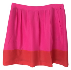 J.Crew J. Crew Two-toned Skirt Pink and Orange