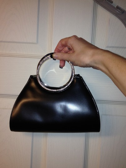 Wet Seal Wristlet in Black