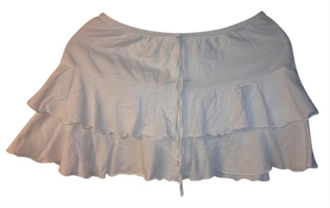 Sideout Mini Skirt White