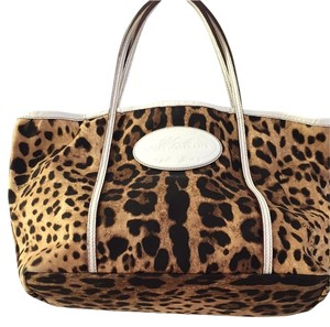 Dolce&Gabbana Dolce And Gabanna Neverfull Like New Tote in Leopard