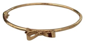 Kate Spade KATE SPADE Gold Love Notes Golden Bangle Bracelet Skinny Mini