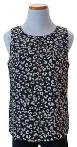 W118 by Walter Baker Layering Top Black/Cream Print