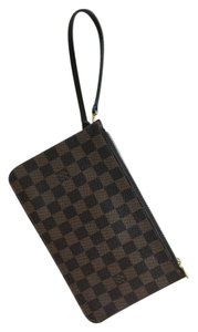 Louis Vuitton SOLD! RESERVED FOR MV! Brand new Never used! Louis Vuitton Pouchette-Wristlet in Damier Ebene MM or GM size! date code Sd3135 Made in the USA!