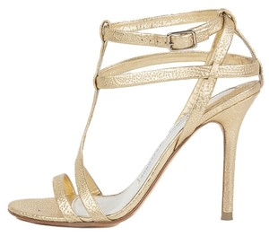Camilla Skovgaard Strappy Gold Sandals