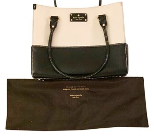 Kate Spade Wellesley Quinn Tote in Cream White & Black