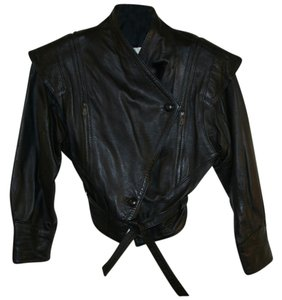 Alberto Tesatti Supple Leather Vintage 1980 Leather Jacket